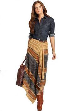 Was mit einem Wickelrock zu tragen. So wählen Sie Ihr Modell. - Марина Чернигина - - Was mit einem Wickelrock zu tragen. So wählen Sie Ihr Modell.