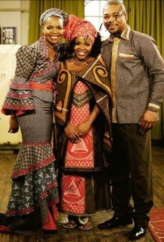 Photos of Traditional Xhosa Wedding Photos: South African + Traditional + Wedding + Dresses African Dresses For Women, African Print Fashion, Africa Fashion, African Fashion Dresses, African Women, Sotho Traditional Dresses, African Traditional Dresses, Traditional Fashion, Traditional Outfits