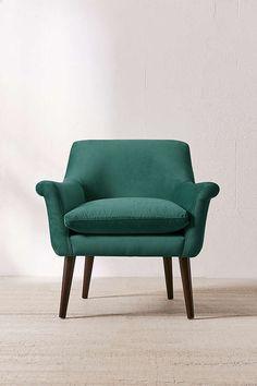 Eleanor Velvet Arm Chair, #ad