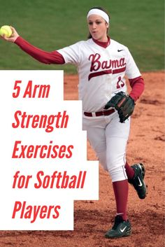 Learn how to increase velocity, stamina and decrease arm pain in this article with simple arm strengthening exercises for softball players. Softball Workouts, Softball Drills, Softball Coach, Softball Players, Girls Softball, Fastpitch Softball, Softball Stuff, Softball Things, Softball Treats