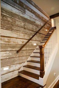 Sale Ultra Thin White Washed Barn Siding | Etsy #basementremodel