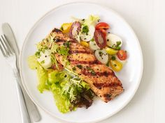 Cuban-Style Grilled Salmon from FoodNetwork.com