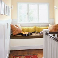 turn a landing into a reading nook - Google Search