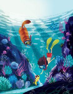 Underwater on Behance More