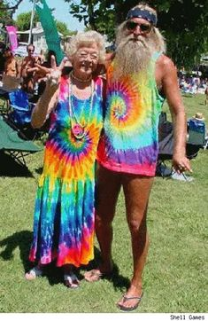 Like I said, old hippies never die, they just turn into rainbows.