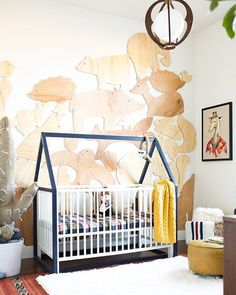 this nursery is blowing our minds! see more @vintagerevivals