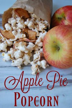 Apple Pie Popcorn -