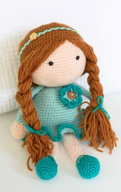 A doll for Alice ~ by Down Grapevine Lane