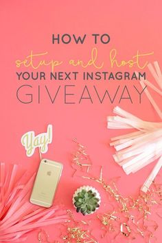 Running a giveaway or promotion for your business can bring a whole new audience and traffic to your brand. We know it can be really overwhelming to organize, promote and follow through with a giveaway, but this is your chance to be able to offer up something you know your audience will love   Think Creative Collective