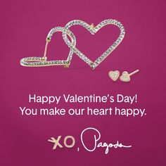 Happy #ValentinesDay! xo, Pagoda