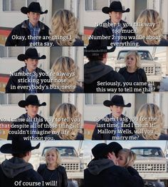 I'm so behind on this show but this makes me so happy Heartland Mallory, Heartland Season 10, Watch Heartland, Heartland Quotes, Heartland Ranch, Heartland Tv Show, Movies Showing, Movies And Tv Shows, Ty E Amy