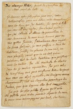 Correspondence by Vichy du Deffand to Horace Walpole. Her letters alone come to over 1,500.  In both the case of Geoffrin and Deffand, had they, in fact, been celebrated Enlightenment salonnières (whether or not the particular terms 'salon' or 'salonnière' were deployed) there should have been ample proof to substantiate this, either amongst their own records or the records of others who attended their salons.