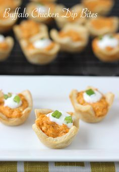 Football Sunday just got better with these Buffalo Chicken Dip Bites