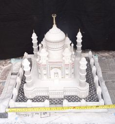 "18"" Marble India Taj Mahal Mughal Kalin Shahjahan Filigree Art Living Home Gifts #HariomHandicraftExport #MarbleTajMahal #WhiteMarble #TajMahal #ItalianMarble #LoveGifts #Gifts #RoomDecor #ValentineGift #HandmadeDecor #HallwayArt #CollectibleGifts"