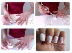 DIY Crystal Nails