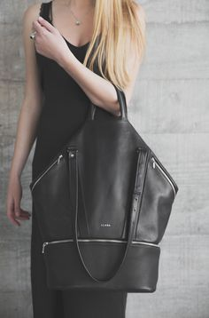 [ultimate gym bag] The LLANA Bag is made from ultra-fine New Zealand leather and enhanced Wool Fresh material available solely through the upcoming brand. Wool Fresh extends