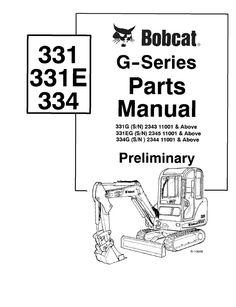 bobcat 442 compact excavator parts manual pdf bobcat manuals rh pinterest com Instruction Manual Instruction Manual
