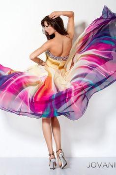 My dream prom dress ..  Multi-Color Prom Dress 3006 Jovani by Zuz