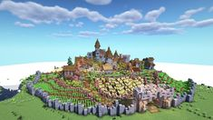 Here you can share your Minecraft builds and seek advice and feedback from like minded builders! Minecraft Medieval Village, Minecraft Farm, Minecraft Castle, Minecraft Plans, Minecraft Construction, Minecraft Tutorial, Minecraft Blueprints, Minecraft Designs, Minecraft Creations