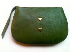 Pretty green pocket