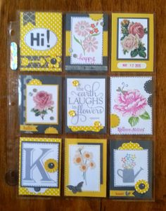 Annmaries Stamping Adventures Pocket Pal Letters Everywhere