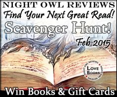 Happy Monday, Romance Readers! I thought I'd send out a quick note to those of you who've recently signed up for my Newsletter and give you the inside scoop on a fantastic giveaway being sponsored by Night Owl Reviews. This is no small giveaway, folks. This is BIG!