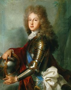 The art work Portrait of Philipp of France (since 1700 as a Philipp V. king of Spain) - Joseph Vivien we deliver as art print on canvas, poster, plate or finest hand made paper. You define the size yourself.