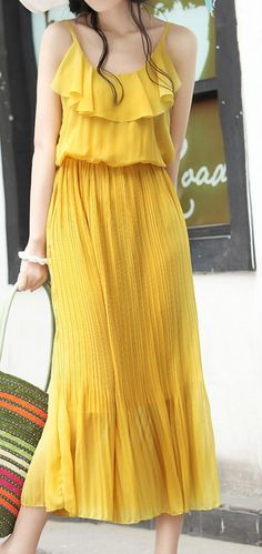 bridesmaids... I know you hate yellow...