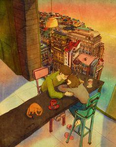 Ilustrações Novas Mostram Que O Amor Está Nas Pequenas Coisas