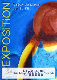 #exposition en #Martinique http://www.pigmentropie.fr/2016/06/exposition-hotel-bakoua-elize/