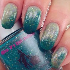 Lace and Lacquers: MRS. P'S NAIL POTIONS: Pea-Cocky