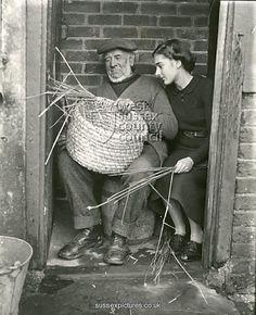 weaving the skep