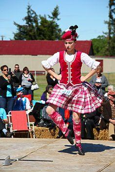 Raspberry Lassie - Hororata Highland Games NZ.