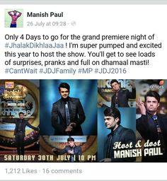 Manish Paul FB....
