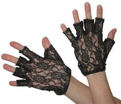 Lacy Gloves - I wore a pair just like these to prom.