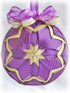 Quilted Ornaments | Quilted Christmas Ornaments | Quilt Balls