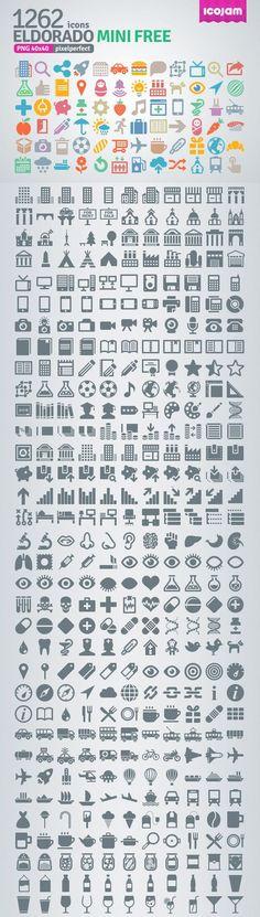 Eldorado - 1262 Free Icons #infographics