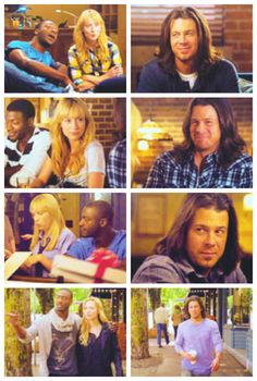Parker & Hardison and Eliot. I love how Eliot looks at them, he found his family <3