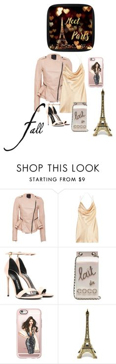 """""""She is a lady"""" by subvilli ❤ liked on Polyvore featuring Marissa Webb, Yves Saint Laurent, Tom Ford, Chanel, Casetify, gold, Leather and fallgetaway"""