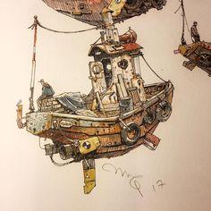 Watercolour Waldo.