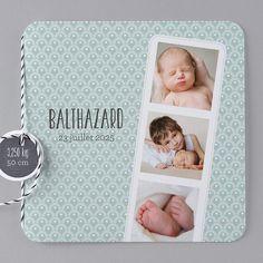Faire-part de naissance - B27-021