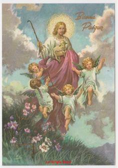 cartolina lucida fg augurale religiosa vintage Buona Pasqua Gesù agnello angeli FOR SALE • EUR 1,00 • See Photos! Money Back Guarantee.  SCONTI già ATTIVI nel CARRELLO per ACQUISTI MULTIPLI con COMPRALO SUBITOdal 20% al 50% in base all'importo dell'acquistoSPEDIZIONE GRATUITA (dove presente) con Posta4 - Posta1 - Posta Raccomandata in 112501726830
