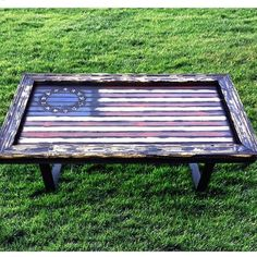 Betsy's Colonial Freedom Coffee Table.  http://ift.tt/1Nxsn1y