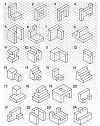 6 Drawing Shapes On isometric Paper Worksheet 59 Best رسم هندسي images √ Drawing Shapes On isometric Paper Worksheet . 6 Drawing Shapes On isometric Paper Worksheet . 59 Best رسم هندسي Images in Isometric Drawing Examples, Isometric Sketch, Isometric Drawing Exercises, Isometric Shapes, Isometric Grid, Isometric Design, Orthographic Projection, Orthographic Drawing, Shapes Worksheet Kindergarten
