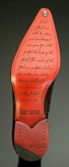 The sole of a Jeffrey West Ziggy - 'Zante' Cricket Oxford