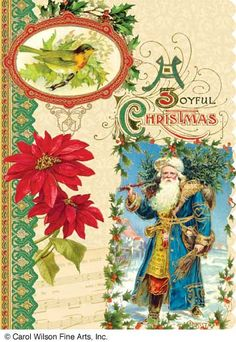 Carol Wilson Fine Arts Christmas Cards - available in boxed & counter cards.
