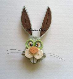Забавные зайчьи мордашки от Simona Elena.
