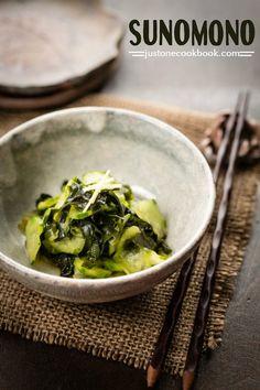 Sunomono (Cucumber Salad) 酢の物 • Just One Cookbook
