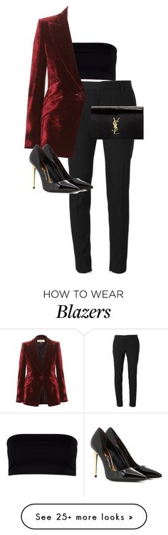 """Untitled #10555"" by alexsrogers on Polyvore featuring Yves Saint Laurent, AllSaints, Emilio Pucci and Tom Ford"