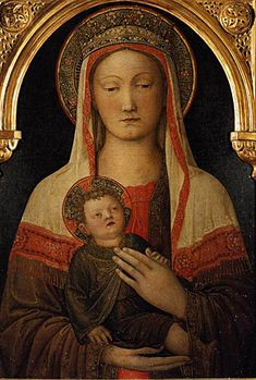 Jacopo Bellini, Madonna and Child, this is just beautiful! Our Lady Mary and Jesus our Savior! Madonna, Renaissance, Image, Art, Madonna And Child, Christian Art, Art History, Sacred Art
